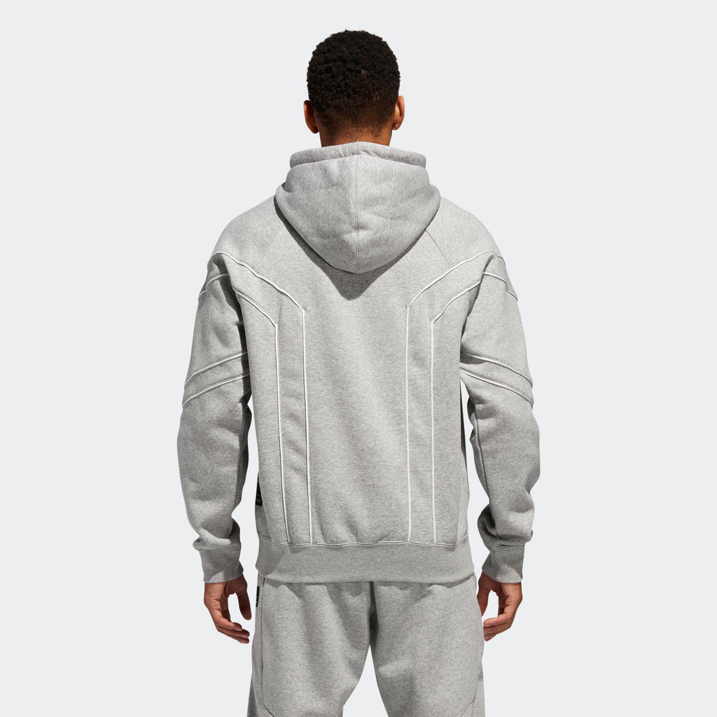 Men's adidas Originals EQT Outline Hoodie Grey