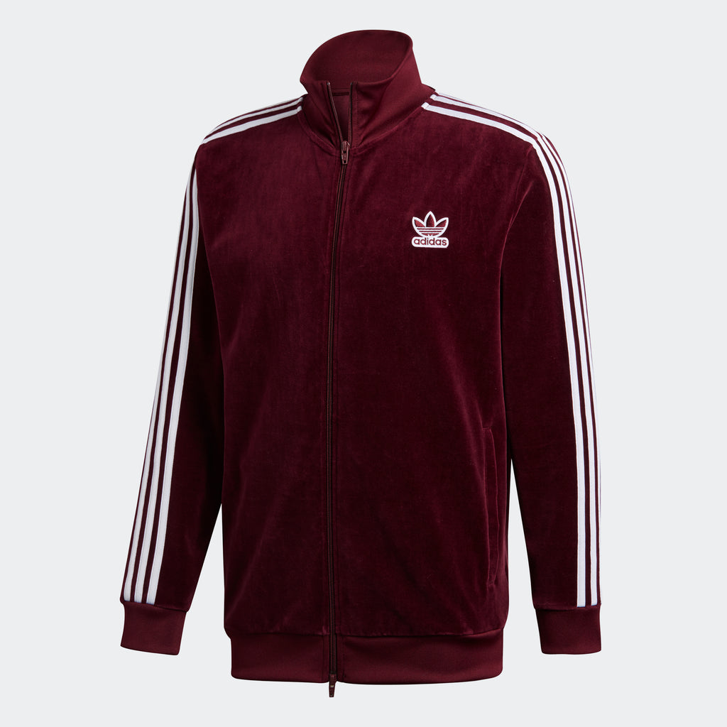 Men's adidas Originals BB Track Jacket Maroon