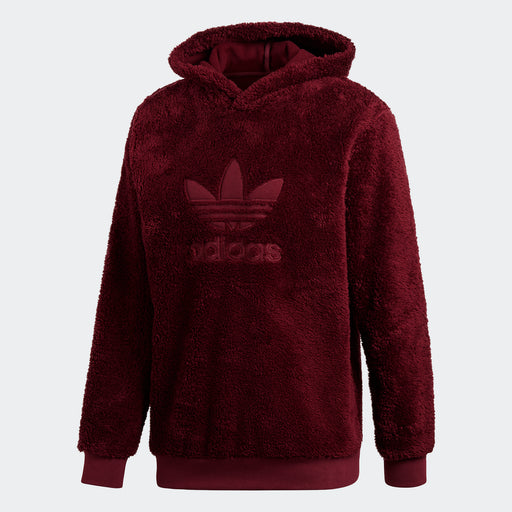 Men's adidas Originals Winterized Hoodie Maroon