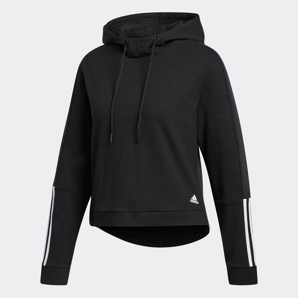 Women's adidas Athletic ID Elevated Transitional Statement Jacket Black