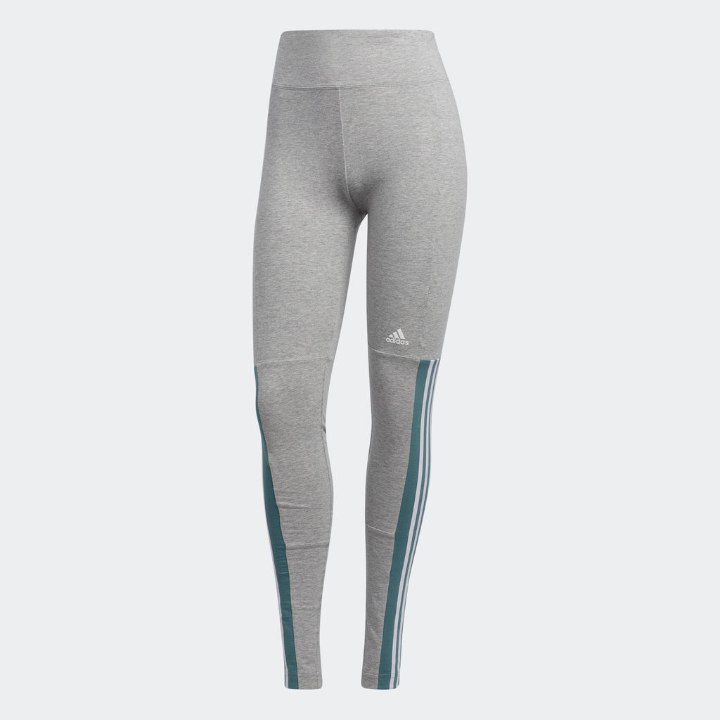 Women's adidas Athletics ID Elevated Transitional Leggings Grey