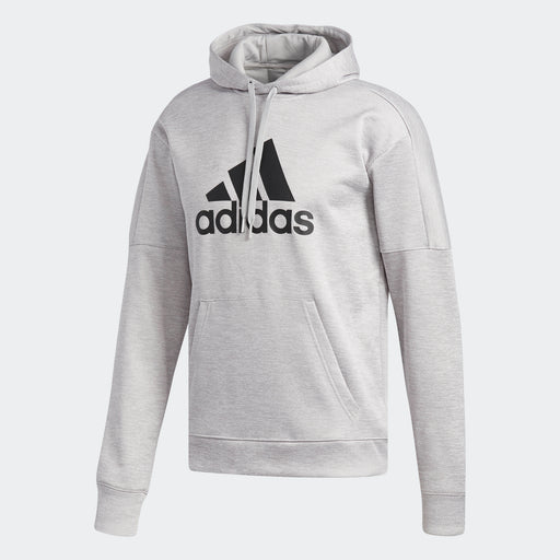 Men's adidas Athletics Team Issue Badge of Sport Hoodie Grey