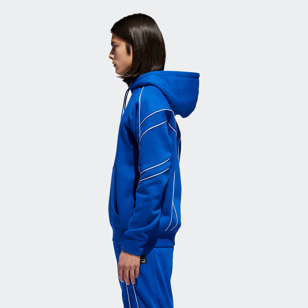 Men's adidas Originals EQT Outline Hoodie Blue