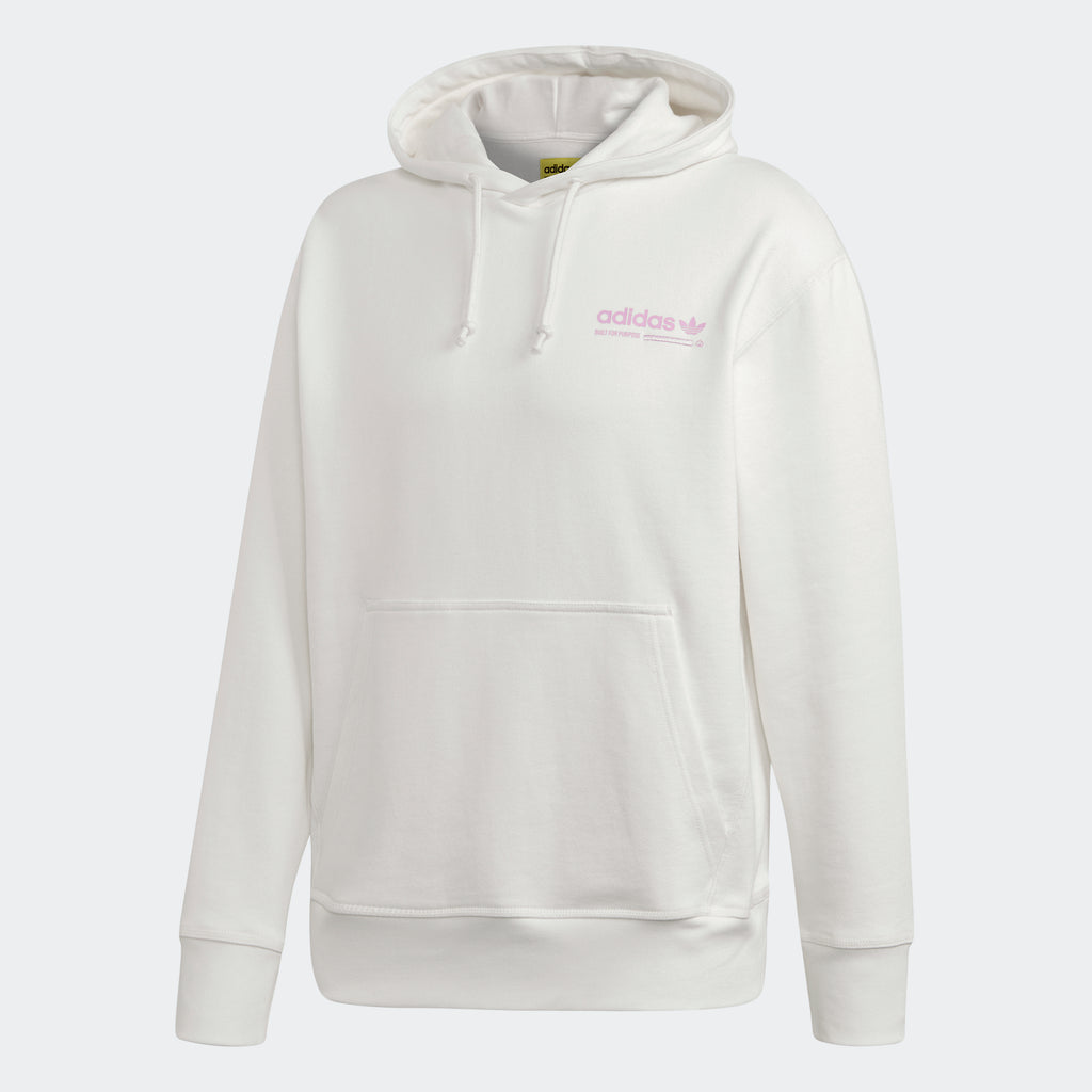 Men's adidas Originals Kaval Hoodie White Lilac