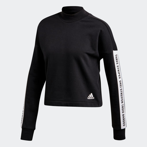 Women's adidas Athletics Sport ID Sweatshirt Black