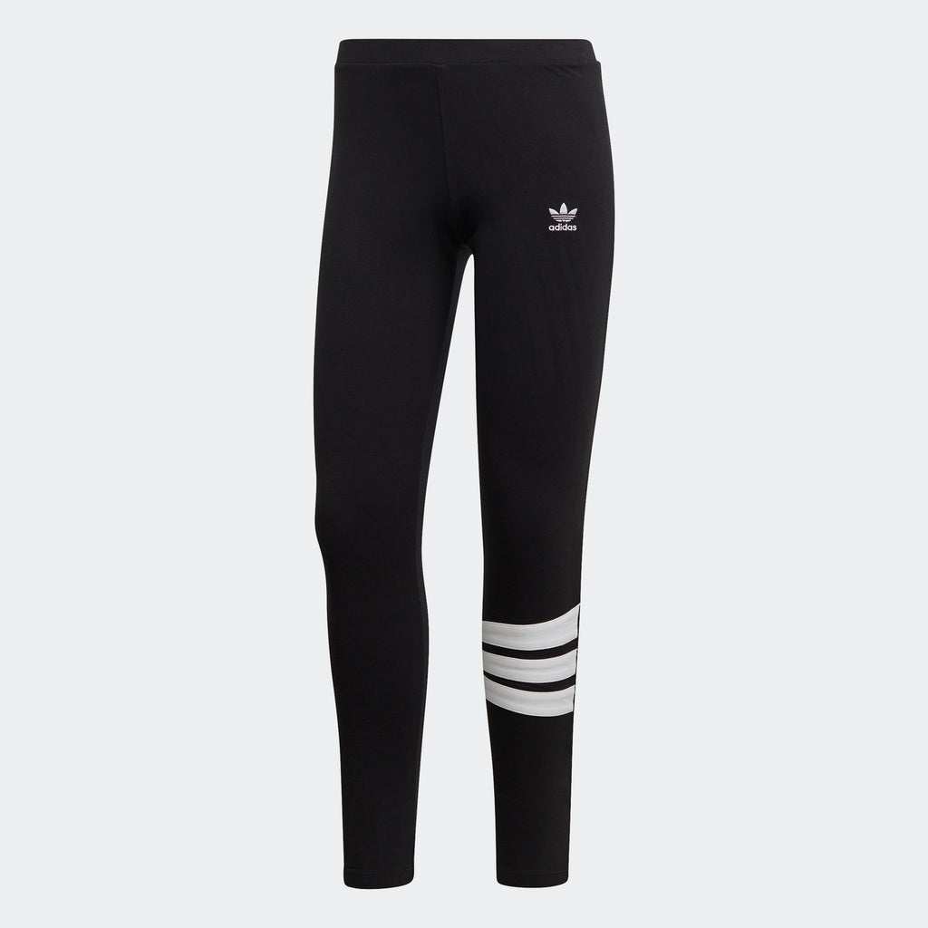 Women's adidas Originals Angular 3-Stripes Leggings Black