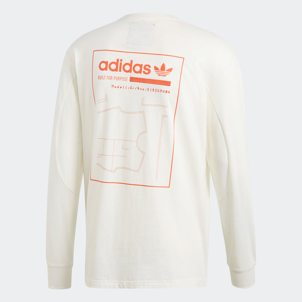 Men's adidas Originals Kaval Graphic Tee Running White