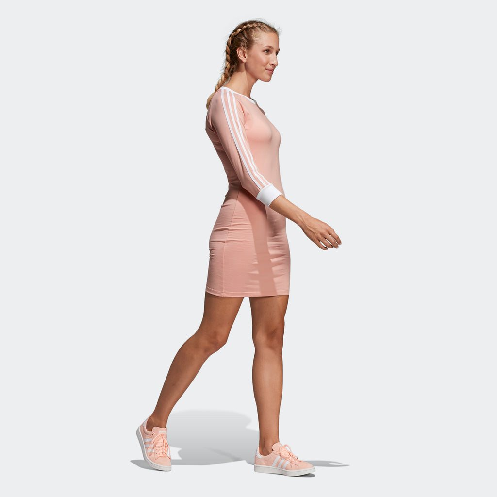 Women's adidas Originals 3-Stripes Dress Dust Pink