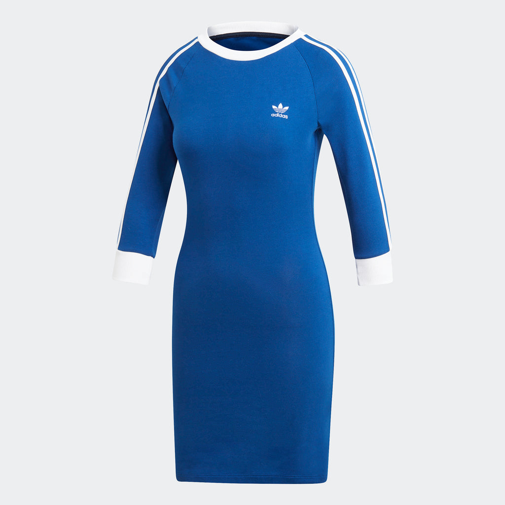 Women's adidas Originals 3-Stripes Dress Blue