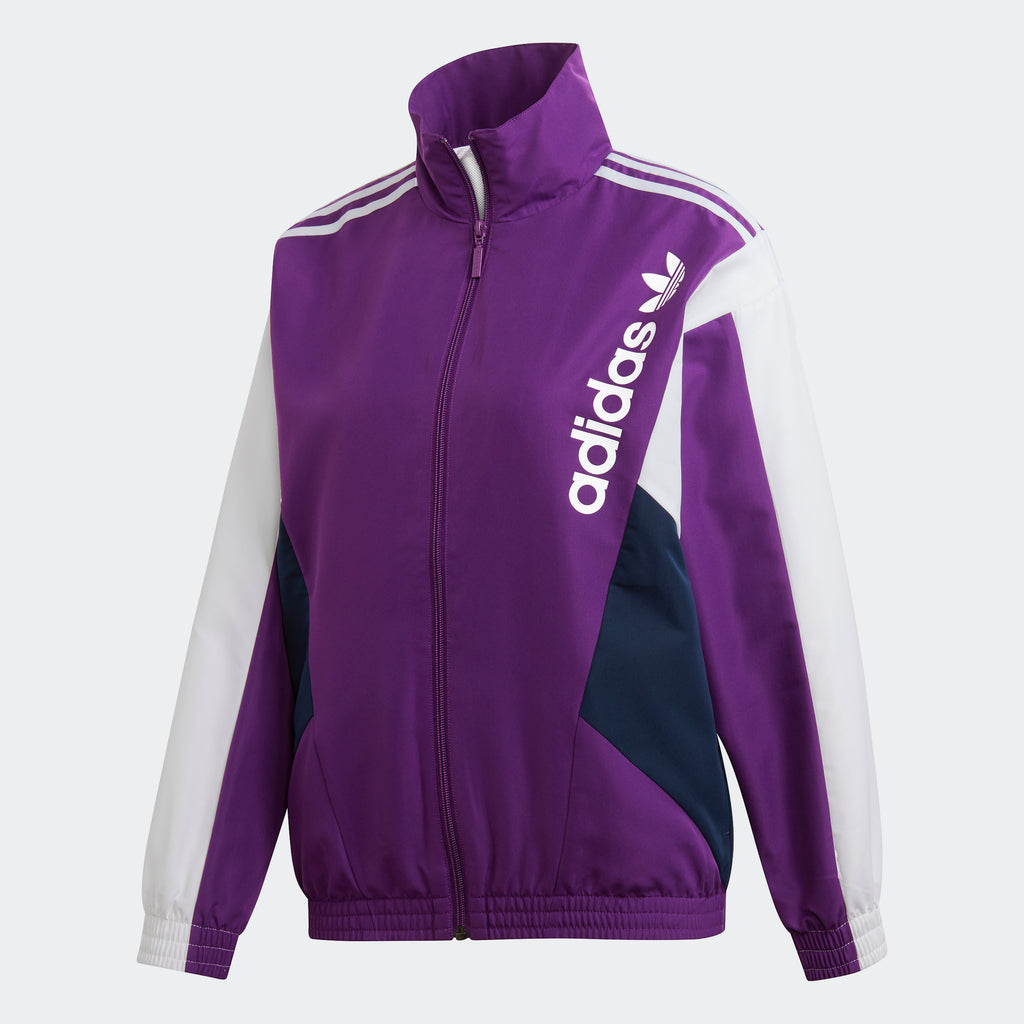 Women's adidas Originals Track Jacket Tribe Purple