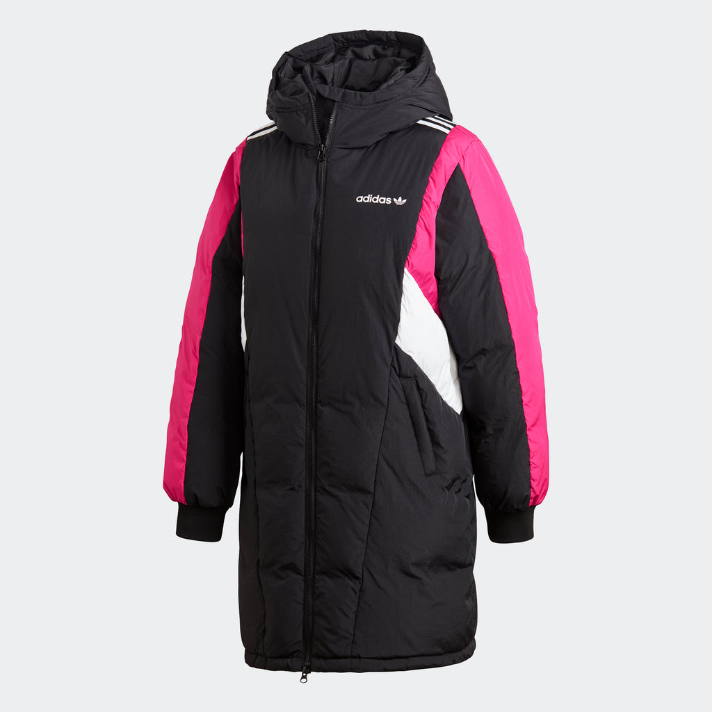 Women's adidas Originals Colorblock Down Jacket Long