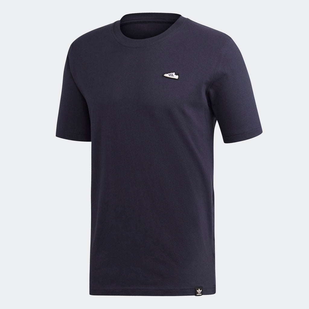 Men's adidas Originals Embroidered Tee Legend Ink