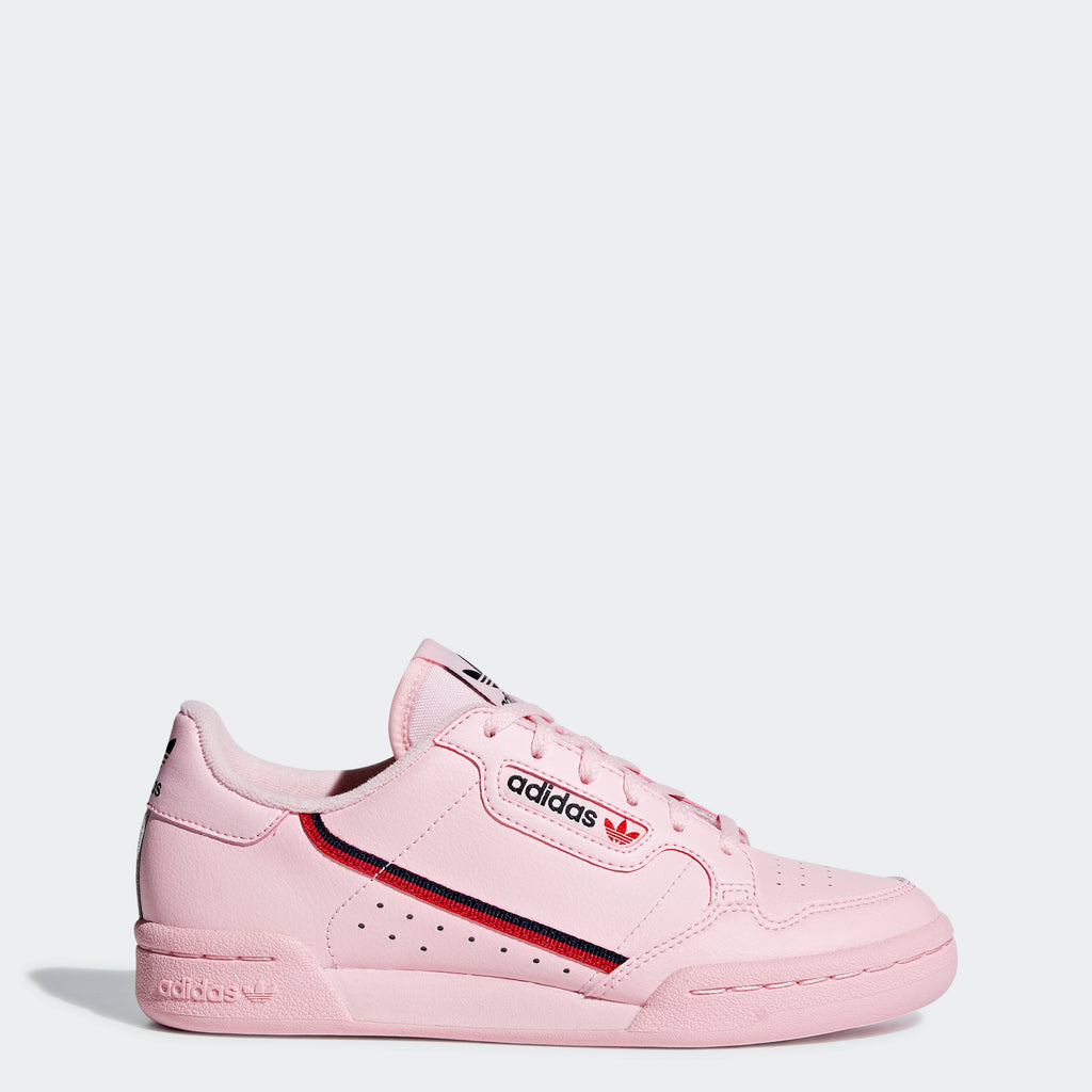 Kid's adidas Originals Continental 80 Shoes Clear Pink