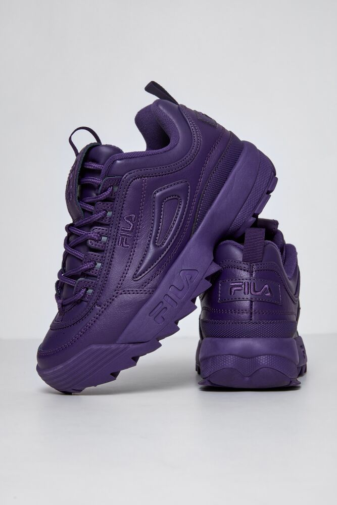 Women's FILA Disruptor 2 Autumn Shoes Purple