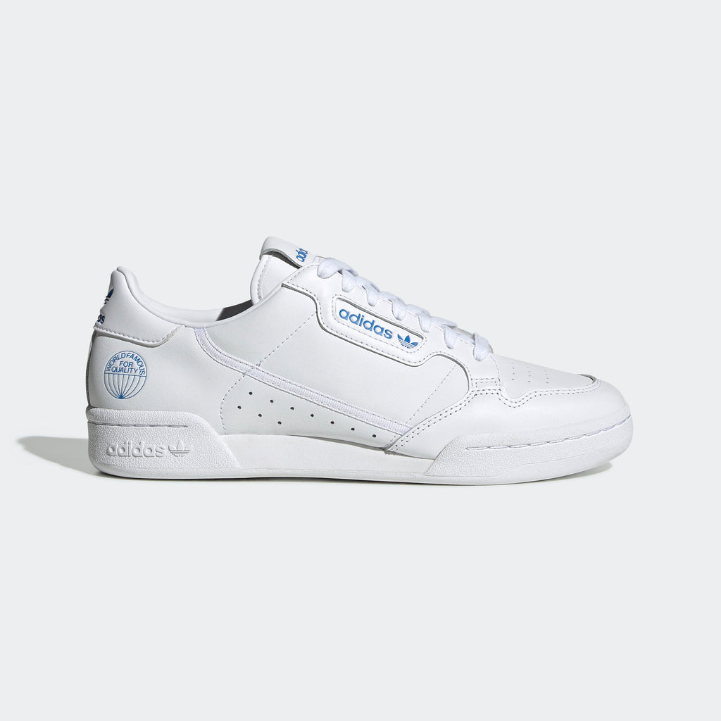 Men's adidas Originals Continental 80 Shoes White Bluebird