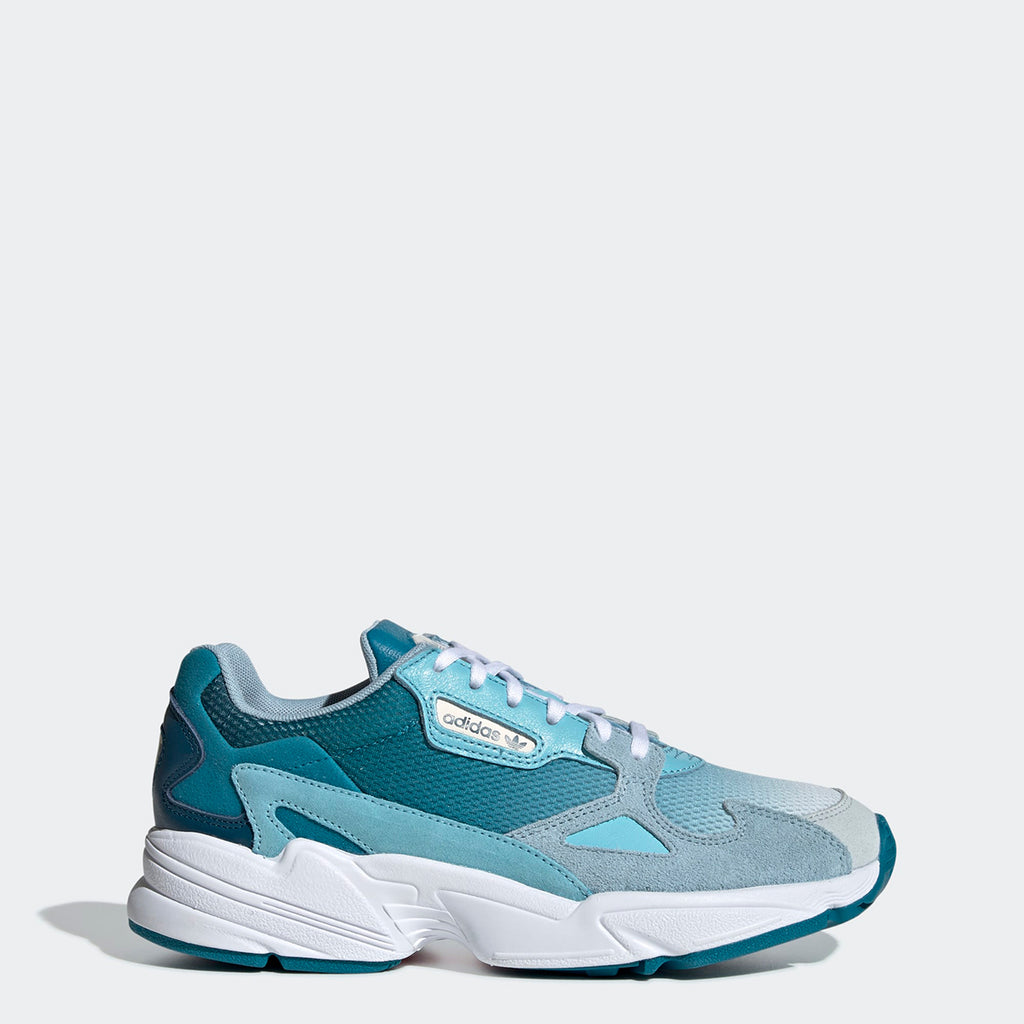 Women's adidas Originals Falcon Shoes Blue Tint