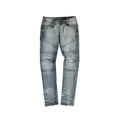 Men's Copper Rivet Jeans 933208GRY | Chicago City Sports | front view