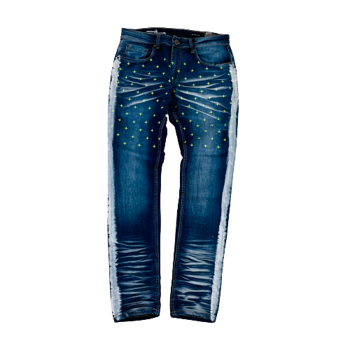 Men's Copper Rivet Jeans 033071DSB | Chicago City Sports | front view