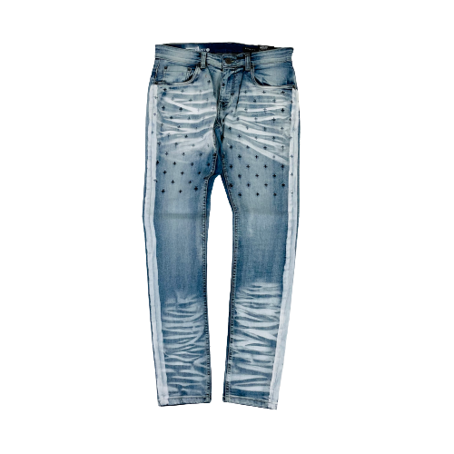 Men's Copper Rivet Jeans 033071LSB | Chicago City Sports | front view