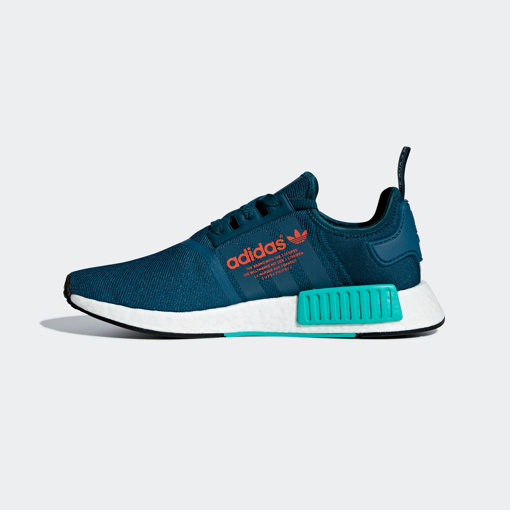 Men's adidas Originals NMD_R1 Shoes Blue Night