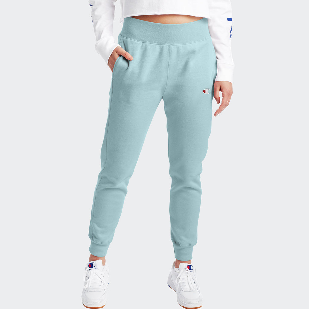 Women's Champion Reverse Weave Joggers Teal