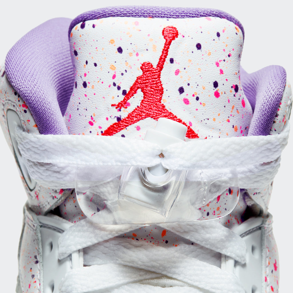 "Big Kids Grade School Air Jordan 5 Retro ""Easter"" (SKU CT1605-100) 