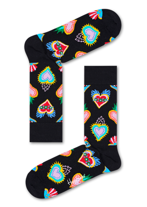 Unisex Happy Socks I Love You Box Socks