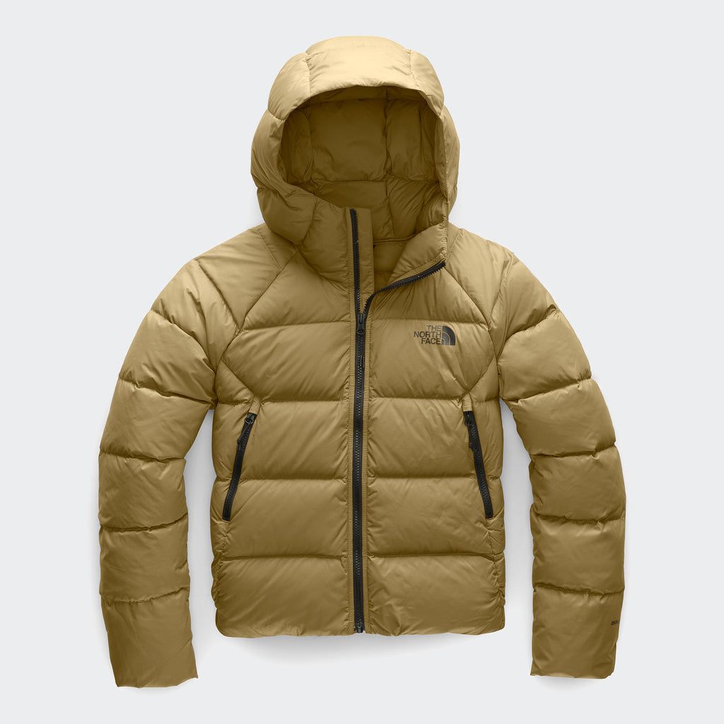 Women's The North Face Hyalite Down Hoodie Jacket Khaki