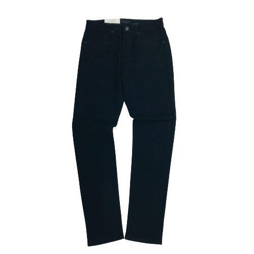 Men's Octagon Basic Skinny Jeans Jet Black OT103RSTJBK | Chicago City Sports | front view