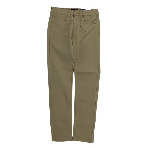 Men's Octagon Basic Twill Pants Khaki OT103STKHA | Chicago City Sports | front view