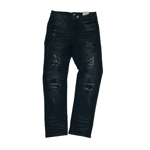 Men's OPS Denim Jeans OPS1905WBKBK | Chicago City Sports | front view