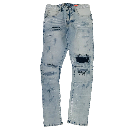 Men's Smoke Rise Jeans SJP21131MTB | Chicago City Sports | front view