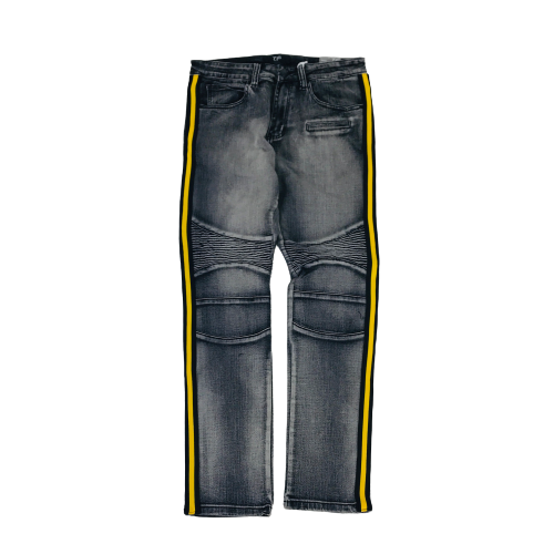 Men's OPS Denim Jeans OP107WBKGD | Chicago City Sports | front view