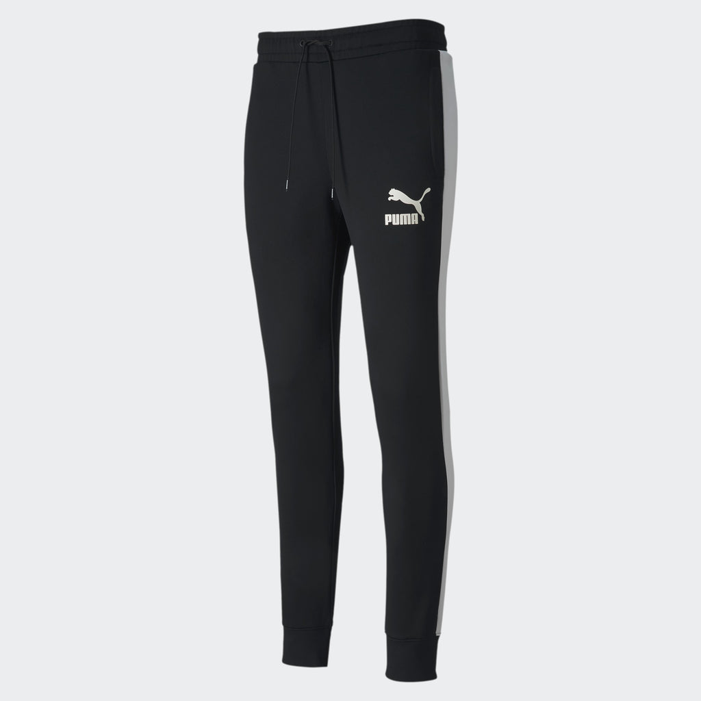 Men's PUMA Iconic T7 Track Pants Black