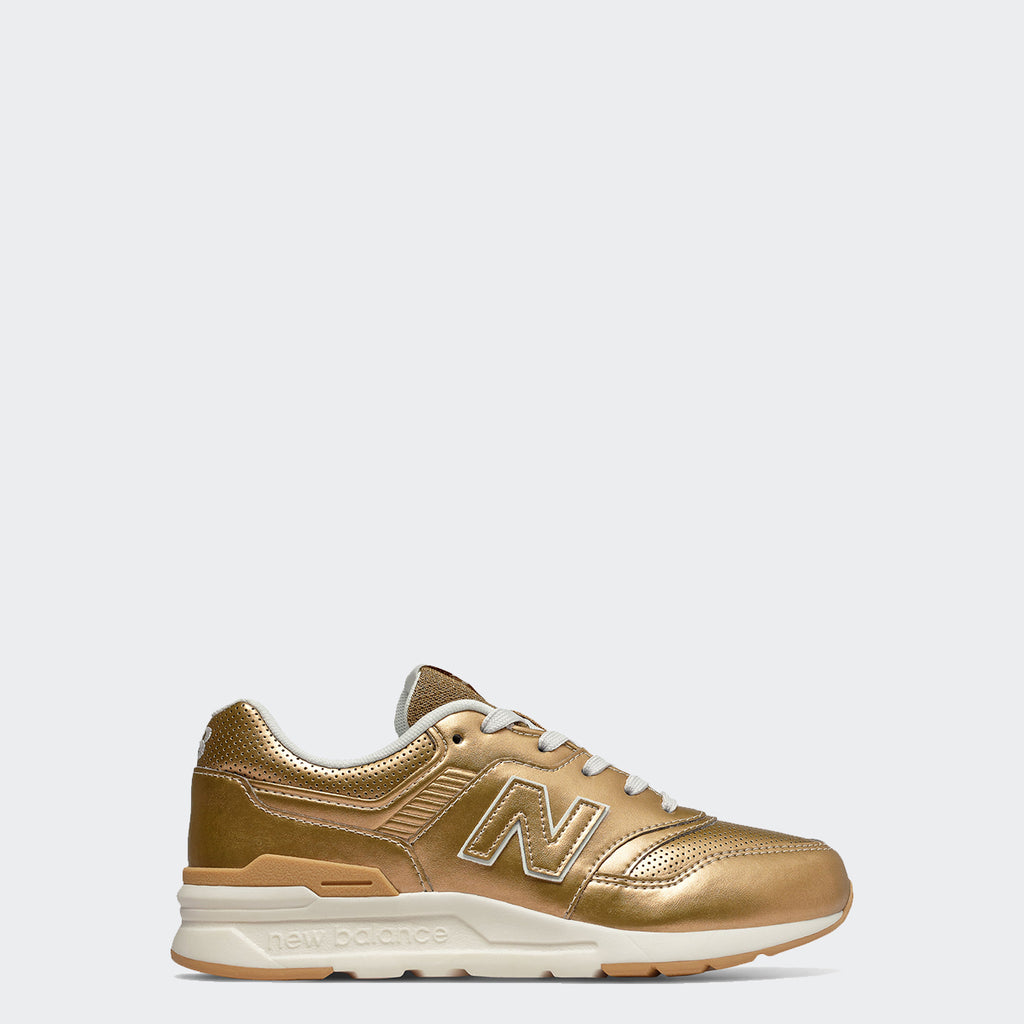 Kid's New Balance 997H Shoes Classic Gold