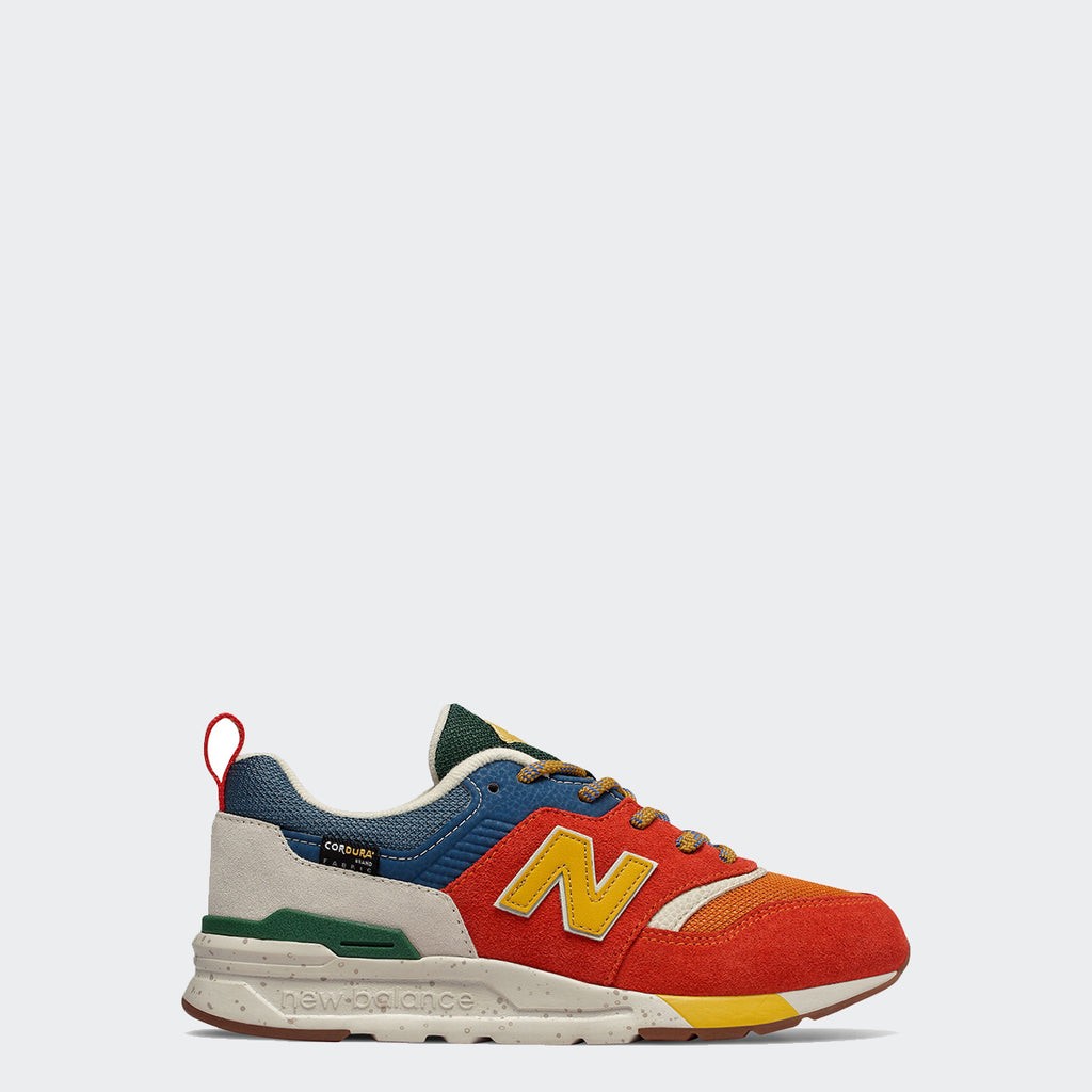 Kid's New Balance 997H Shoes Vintage Orange