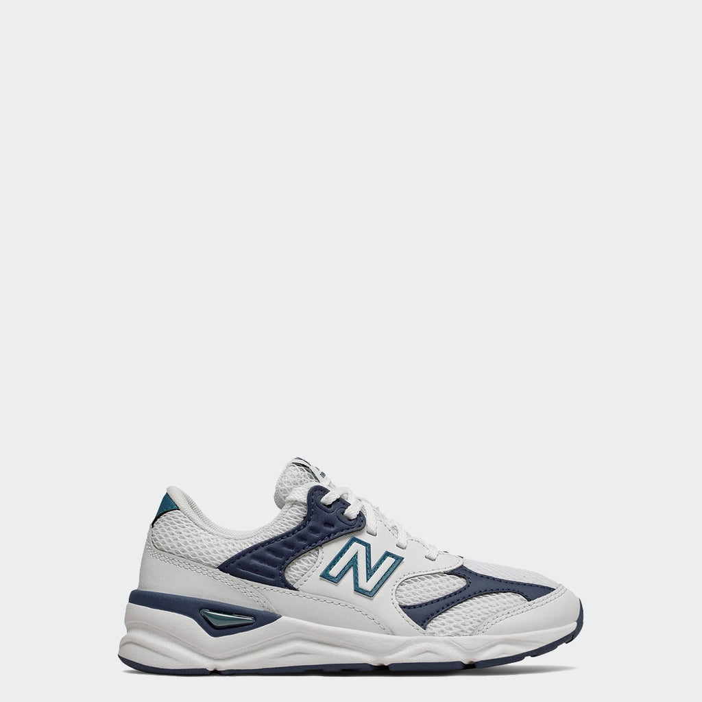 Kid's New Balance X-90 Reconstructed Munsell White