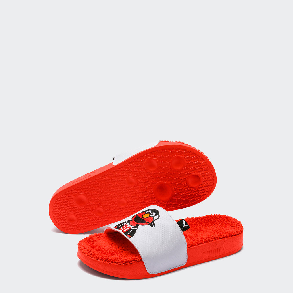 Kid's PUMA Sesame Street 50 Leadcat Slide Elmo Sandals