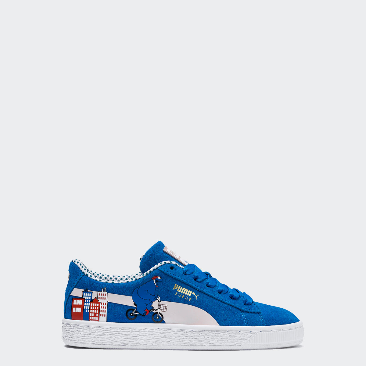 PUMA Sesame Street 50 Suede Cookie Monster Shoes   Chicago