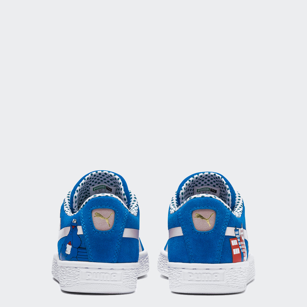 Kid's PUMA Sesame Street 50 Suede Cookie Monster Sneakers (4.5-7)