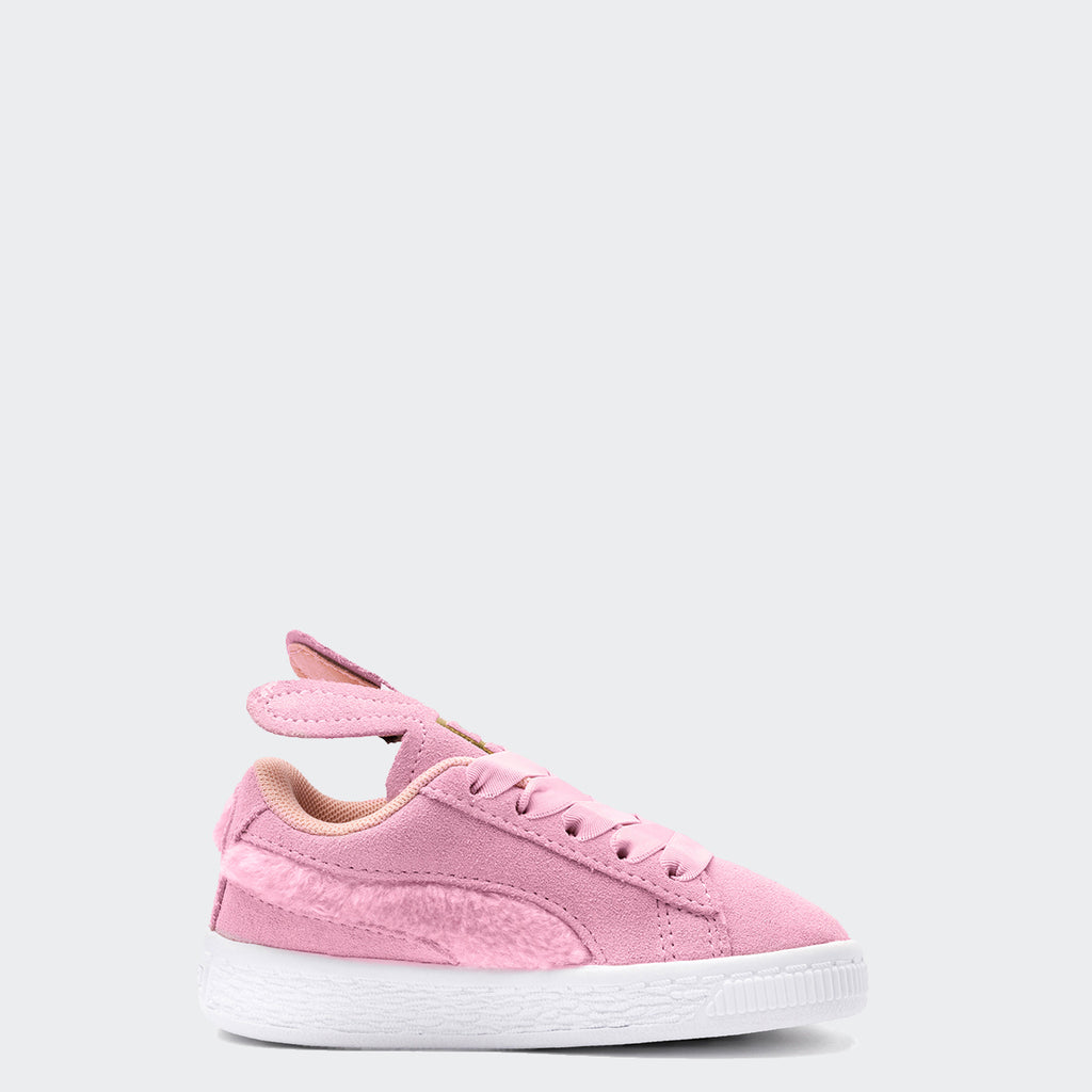 Kid's PUMA Suede Easter Shoes Pale Pink