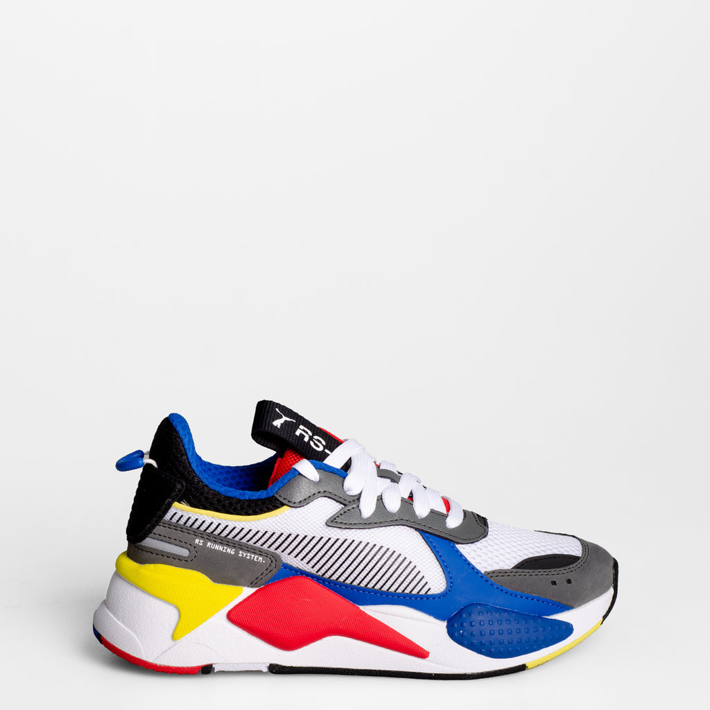 Kid's PUMA RS-X Toys Sneakers White Royal