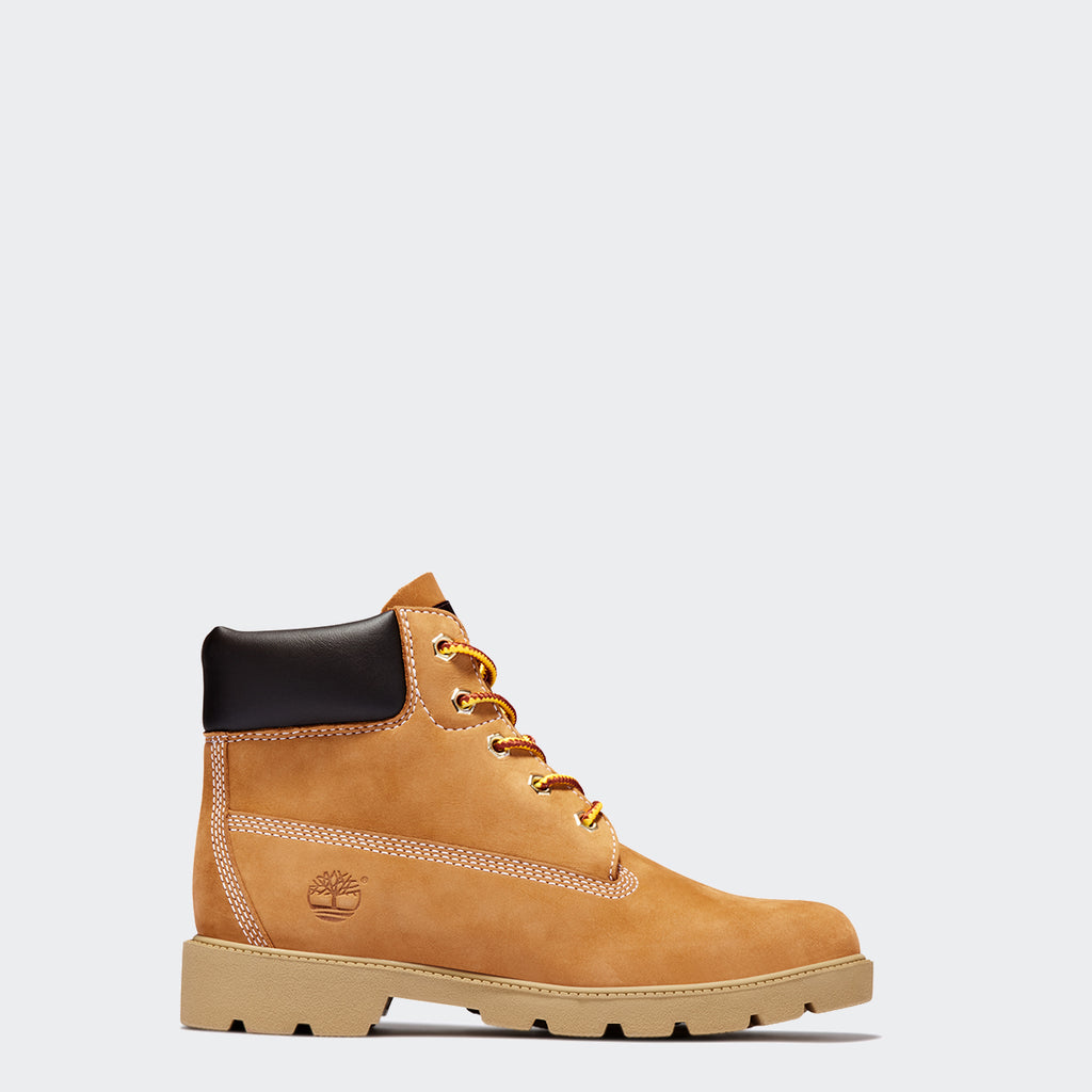 Kid's Timberland 6-Inch Classic Ankle Boots Wheat (TB010960713) | Chicago City Sports | side view