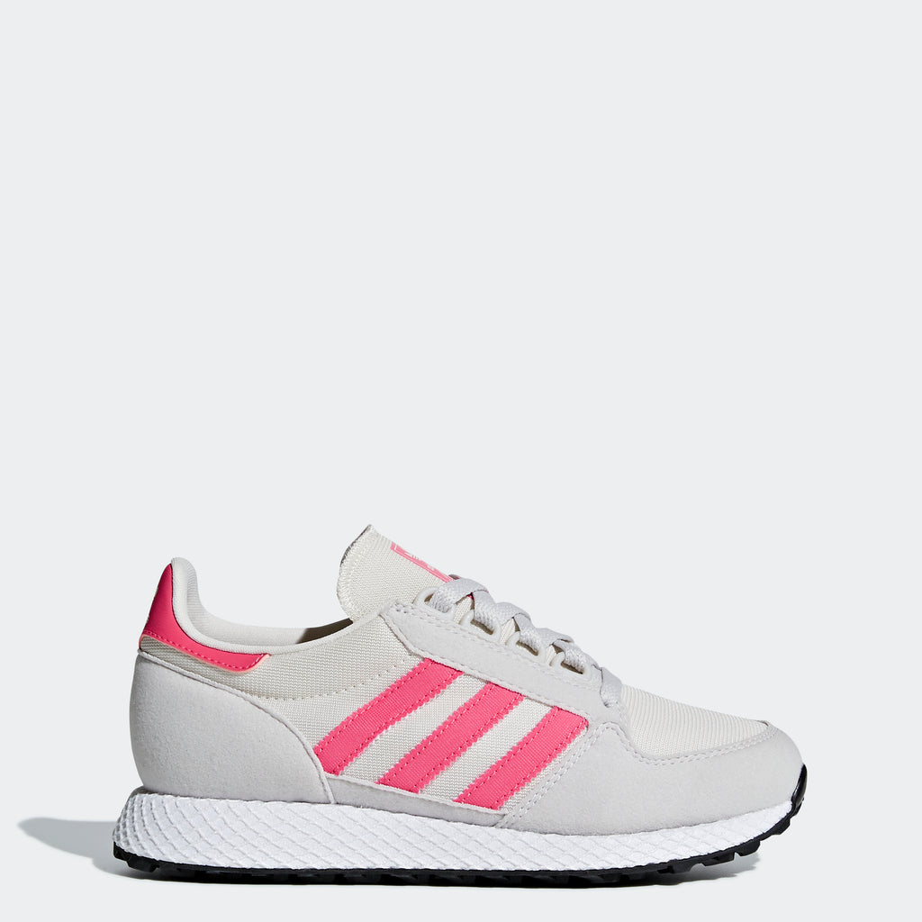 Kid's adidas Originals Forest Grove Shoes Chalk White