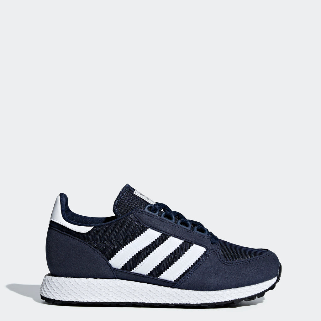 4c62143d06ad5a Kid s adidas Originals Forest Grove Shoes Collegiate Navy