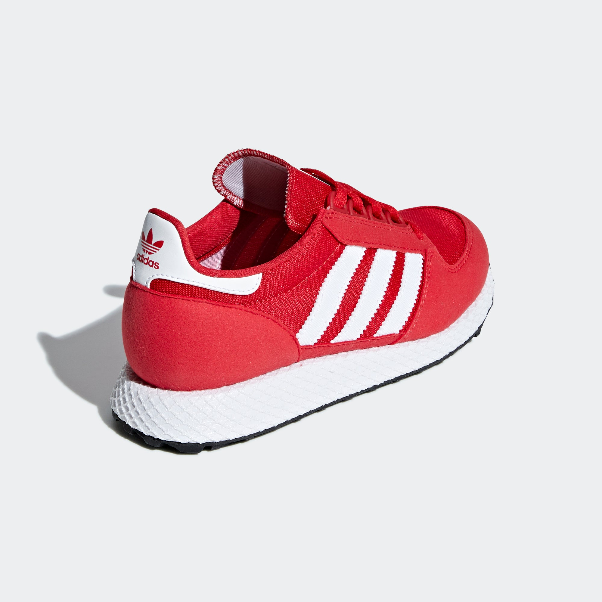 finest selection bb4f2 86dac Kid s adidas Originals Forest Grove Shoes Scarlet Red. 1