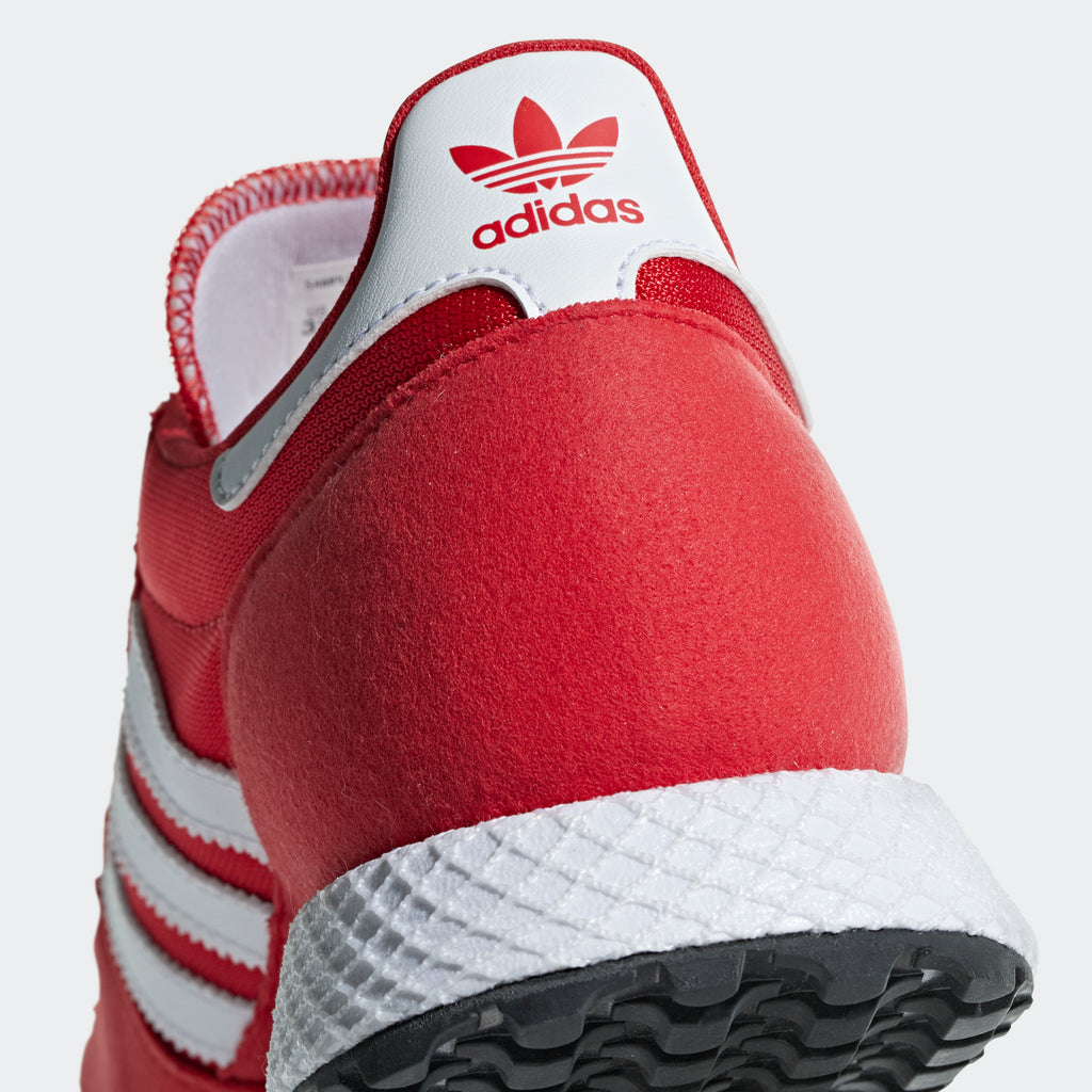 Kid's adidas Originals Forest Grove Shoes Scarlet Red