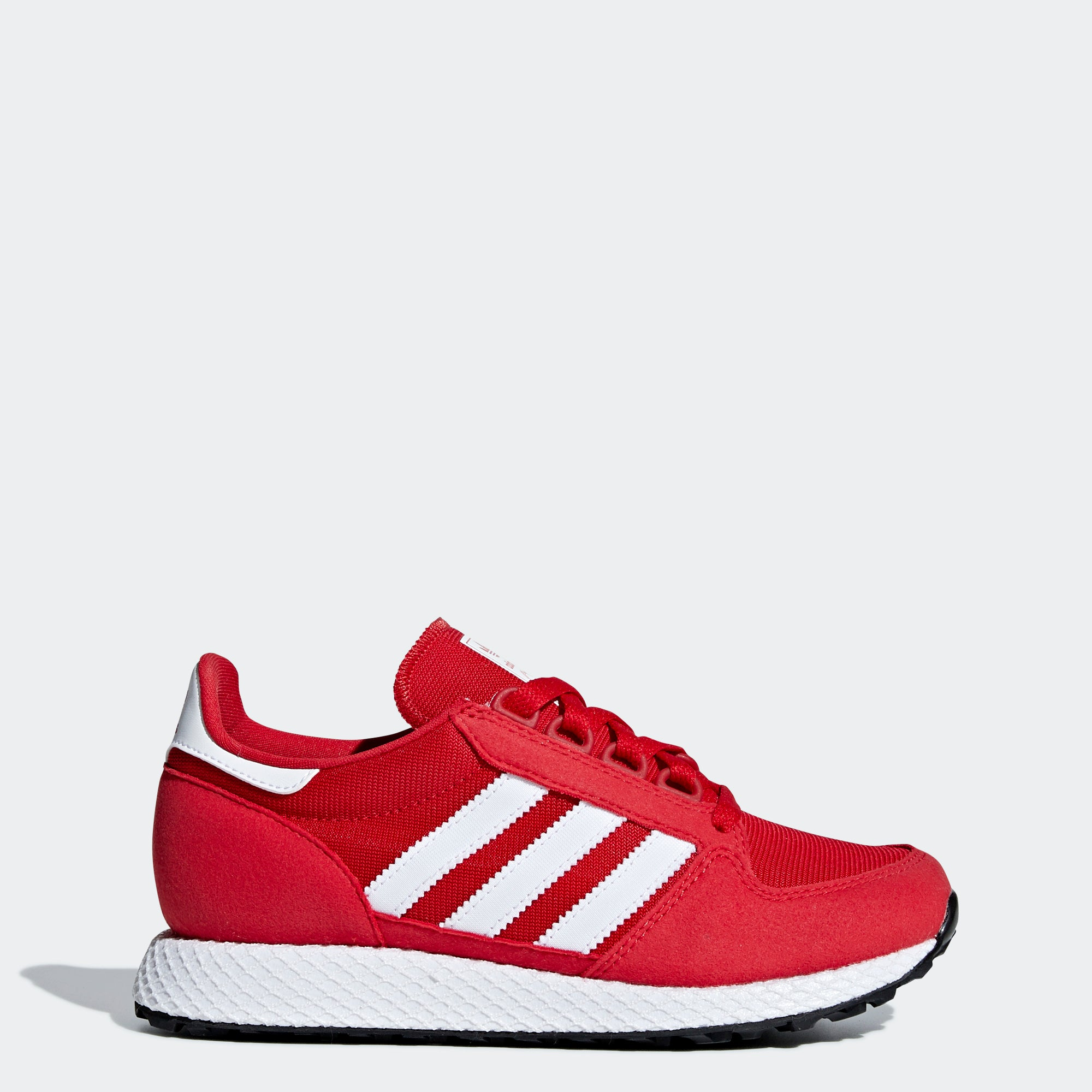 check out 7842a f17c9 Kid s adidas Originals Forest Grove Shoes Scarlet Red