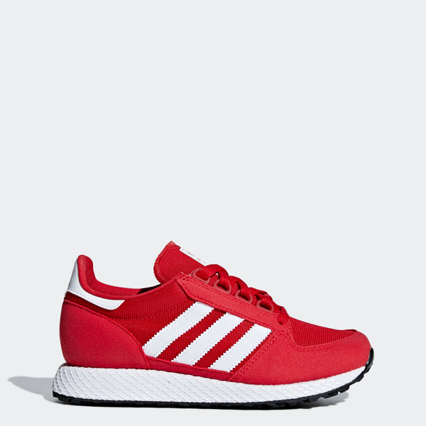 quality design 846eb 86cdf adidas Forest Grove Shoes Scarlet Red B37746   Chicago City Sports