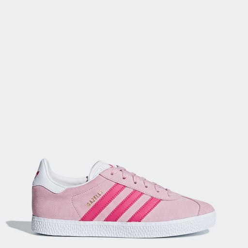 Kid's Adidas Originals Gazelle Shoes Clear Pink